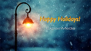 Happy Holidays from ExplainMedia!